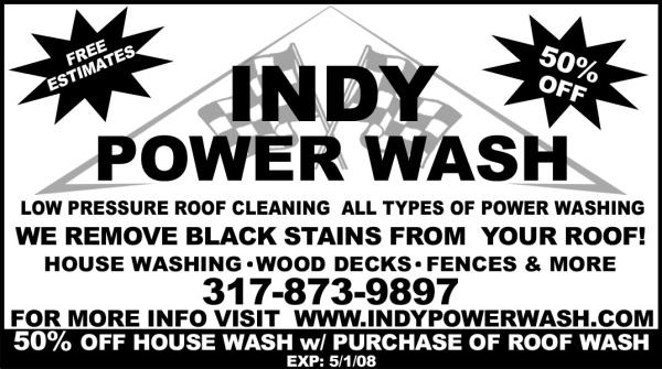 Email Us: Info@indypowerwash.com ...